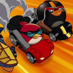 Spiel Angry Birds Racers Memory