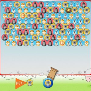Spiel Animals Bubble Shooter