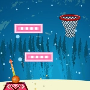 Spiel Basketball Christmas