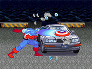 Captain America Car Destroyer