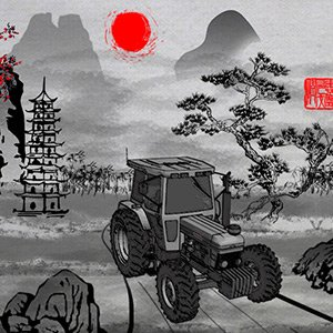 Spiel China Tractor Racing 2
