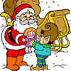 Spiel Christmas Gifts Coloring