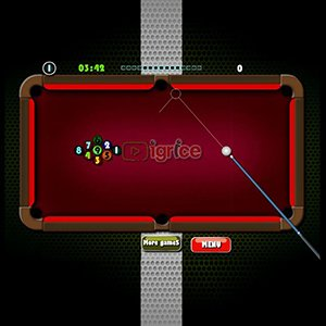 Spiel Colorful Billiard
