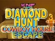 Spiel Diamond Hunt 3 Cowboy House Escape