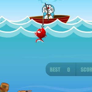 Spiel Doraemon Fun Fishing