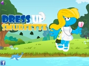 Spiel Dress Up Smurfette