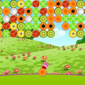 Spiel Fruits Bubble