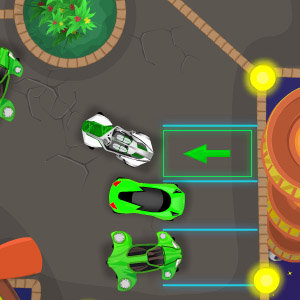 Futuristic Car Parking spielen online