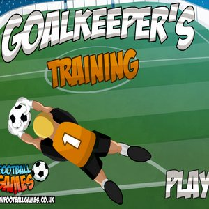 Spiel Goalkeep Training