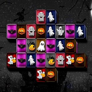 Spiel Halloween Mahjong Connect