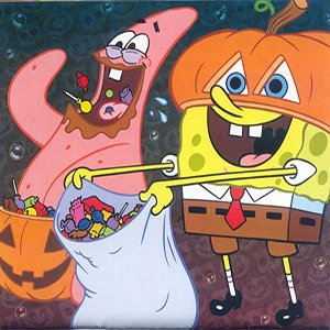 Spiel Halloween SpongeBob and Patrick