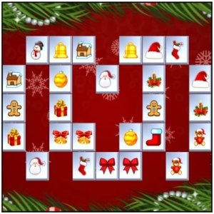 Spiel Mahjong Christmas Puzzles