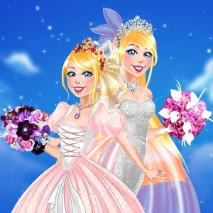 Spiel Now And Then Barbie Wedding Day