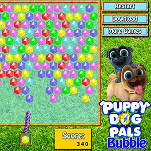 Spiel Puppy Dog Pals Bubble