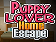 Spiel Puppy Lover Home Escape