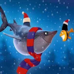 Spiel Shark And Fish At Christmas Game