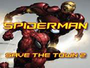 Spiel Spiderman Save The Town 2