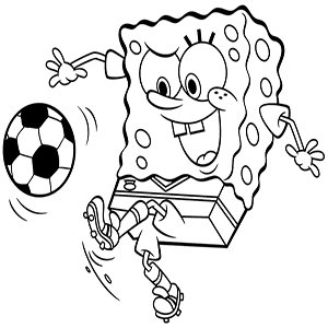 Spiel SpongeBob Squarepants Football Time