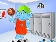 Spiel Sporty Smurf Dress Up