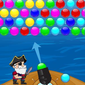 Spiel Super Pirate Bubbles